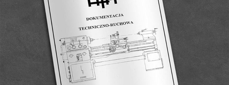 Instrukcja DTR: Tokarka TUE 40 ...-1