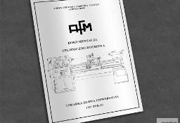 Instrukcja DTR: Tokarka TUE 40 ...