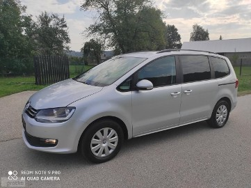 Volkswagen Sharan II 2010r 1.4 150 KM Klimatronic 100% Bezwypadkowy