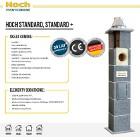 Komin systemowy HOCH Standard.