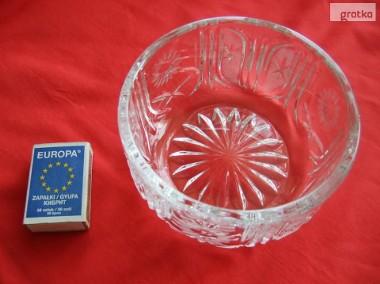 Misa miseczka kryształowa okrągła PRL kryształ-1