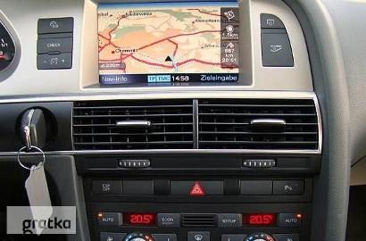 Aktualizacja map mapy nawigacji MMI Audi A4 A6 A8Łódź Zgierz Warszawa