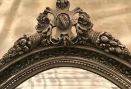 Pałacowe Lustro owal piękne zdobienia