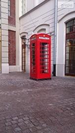 Londyńska budka telefoniczna Red phone BOX - Wynajem! double-decker.pl
