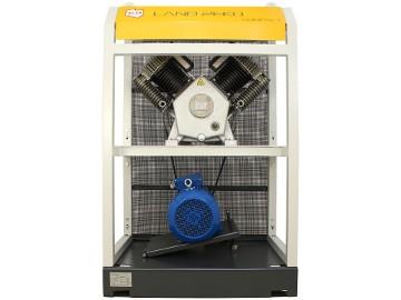 Zestaw Sprężarkowy Kompresor Land Reko 1660l/min Sprężarka tłokowa Pompa powietrza
