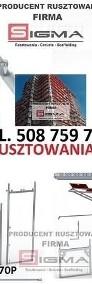 RUSZTOWANIE Okazja 255m2 od 9550 zł Producent Nowe Rusztowania Ramowe-4
