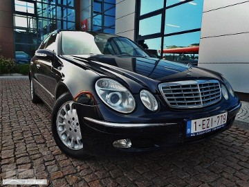 Mercedes-Benz Klasa E W211 Avangarde Automat Skóra Navi Xseno 100% Serwis Gwarancji Bezwypadkow