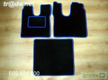 MAN TGA LX od 2000 najwyższej jakości dywaniki samochodowe z grubego weluru z gumą od spodu, dedykowane MAN-1
