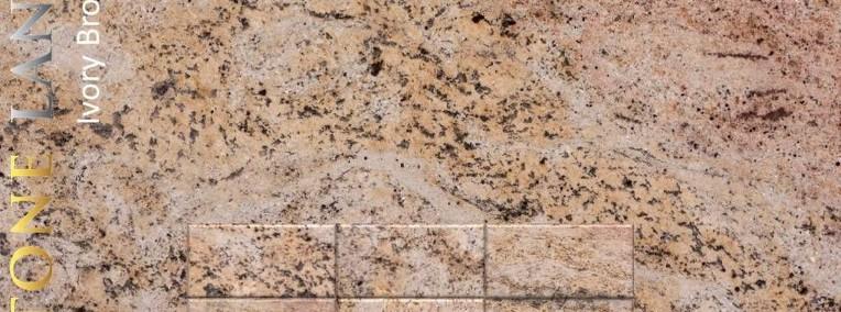 Płytki granitowe podłogowe Ivory Brown 30,5x61x1cm-1