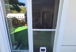 Moskitiera drzwiowa siatka insektowa przejście dla psa lub kota
