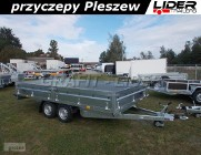 NP-103 przyczepa 420x215x40cm, N20-420 2 kps, towarowa ciężarowa, platforma do 6 europalet, DMC 2000kg