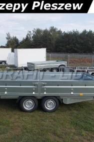 NP-103 przyczepa 420x215x40cm, N20-420 2 kps, towarowa ciężarowa, platforma do 6 europalet, DMC 2000kg-2