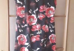 Sukienka elegancka business look ORSAY 38 kwiaty