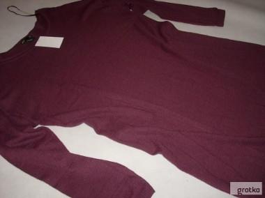 H&M Sukienka Sweter Dzianina 8% wełna NOWA 42 XL 44-1