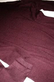 H&M Sukienka Sweter Dzianina 8% wełna NOWA 42 XL 44-2