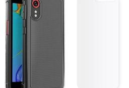 Etui Bezbarwne Flexair + Szkło do Samsung Galaxy Xcover 5