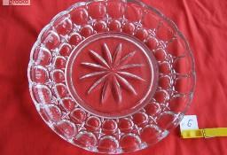 Nr 6 Misa talerz patera kryształowa kryształ PRL