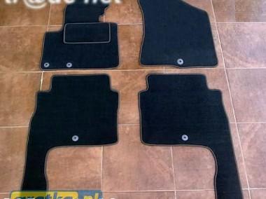 Hyundai Santa Fe od 2010 do 2012 r. najwyższej jakości dywaniki samochodowe z grubego weluru z gumą od spodu, dedykowane Hyundai Santa Fe-1