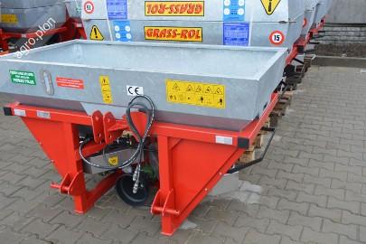 Rozsiewacz do nawozów firmy Grass-rol 600 litrów Ocynkowany Transport
