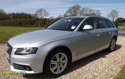 Audi A4 IV (B8) ZGUBILES MALY DUZY BRIEF LUBich BRAK WYROBIMY NOWE