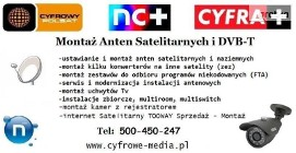 Montaż ANTEN LUSOWO, BATOROWO, Wysogotowo TEL: 500-450-247