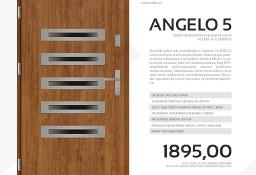 Drzwi zewnętrzne stalowe SETTO model ANGELO 5 CLASSICO