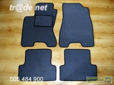 Nissan X-Trail II od 2007 do 2014 r. najwyższej jakości dywaniki samochodowe z grubego weluru z gumą od spodu, dedykowane Nissan X-trail-1