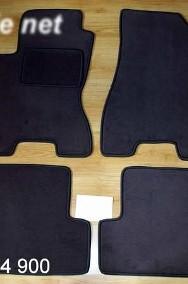 Nissan X-Trail II od 2007 do 2014 r. najwyższej jakości dywaniki samochodowe z grubego weluru z gumą od spodu, dedykowane Nissan X-trail-2
