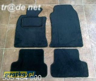 MINI COOPER od 2007r. najwyższej jakości dywaniki samochodowe z grubego weluru z gumą od spodu, dedykowane