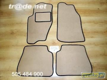 Kia Sorento I od 09.2002 do 2009 r. najwyższej jakości dywaniki samochodowe z grubego weluru z gumą od spodu, dedykowane Kia Sorento