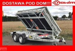 17.32 Przyczepa wywrotka Kiper 2.3 standard budowlana ciężarowa rolnicza do minikoparki maszyn Debon Cheval wywrot elektryczny ...