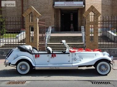 Cabriolet Alfa Romeo Nestor Spider do ślubu na wesele Zabytkowe auta.-1