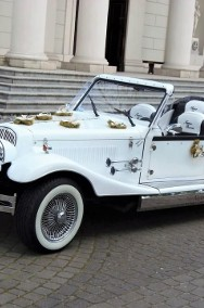 Cabriolet Alfa Romeo Nestor Spider do ślubu na wesele Zabytkowe auta.-2