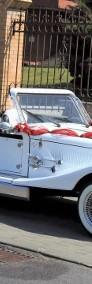 Cabriolet Alfa Romeo Nestor Spider do ślubu na wesele Zabytkowe auta.-3