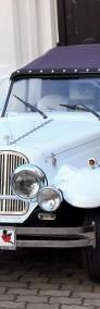 Cabriolet Alfa Romeo Nestor Spider do ślubu na wesele Zabytkowe auta.-4