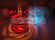 Lampa wewnętrzna metoda CNC  RGB LED