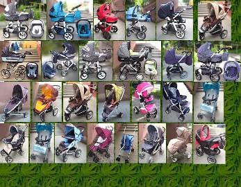 Czyszczenie tapicerek wózków dziecięcych