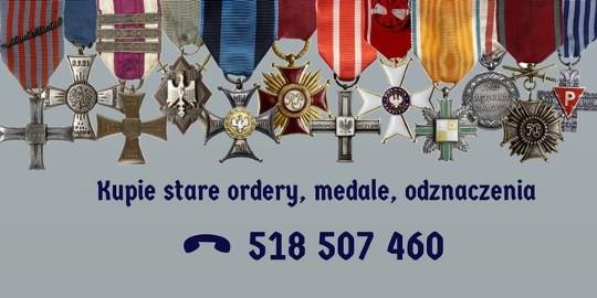 KUPIE stare kolekcje orderów, medali, odznak, odznaczeń