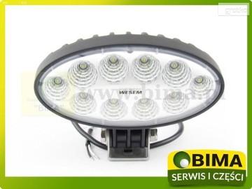 Halogen Lampa robocza reflektor WESEM 10 LED części do Renault,