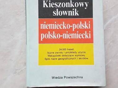 Kieszonkowy słownik niemiecko-polski, polsko-niemiecki-1