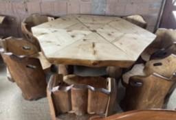 Meble ogrodowe do altanki, stół, stoły drewniane