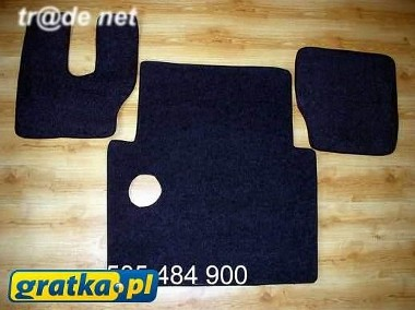 MAN F2000 1994-2000 najwyższej jakości dywaniki samochodowe z grubego weluru z gumą od spodu, dedykowane MAN-1