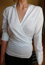 Biała koszula damska MET