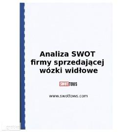 Analiza SWOT firmy sprzedającej wózki widłowe