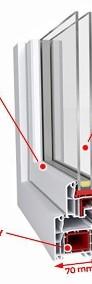 Drzwi Balkonowe OKNO Okna PCV Plastikowe SUPER PROMOCJA ! Kolor Do Wyboru-4