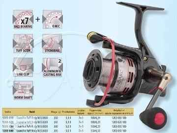 Kołowrotek ALU SPRO spin ślimak GRAND ARC W/S 8200 ALU ALU !