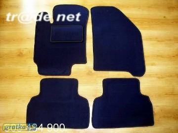 Daewoo Nubira II 1999-2003 najwyższej jakości dywaniki samochodowe z grubego weluru z gumą od spodu, dedykowane Daewoo Nubira