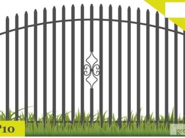 Ogrodzenia,przęsło ogrodzeniowe 120/135x200 cm P 10-1