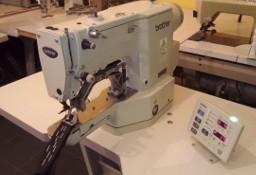 Maszyna do szycia Ryglówka Brother z polem szycia 220V Pfaff Durkopp Adler Juki Stębnówka Dwuigłówka Dziurkarka