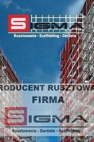 RUSZTOWANIA Rusztowanie 1000m2 na bloki 16,5m x 60m - Siedlce Warszawa-2